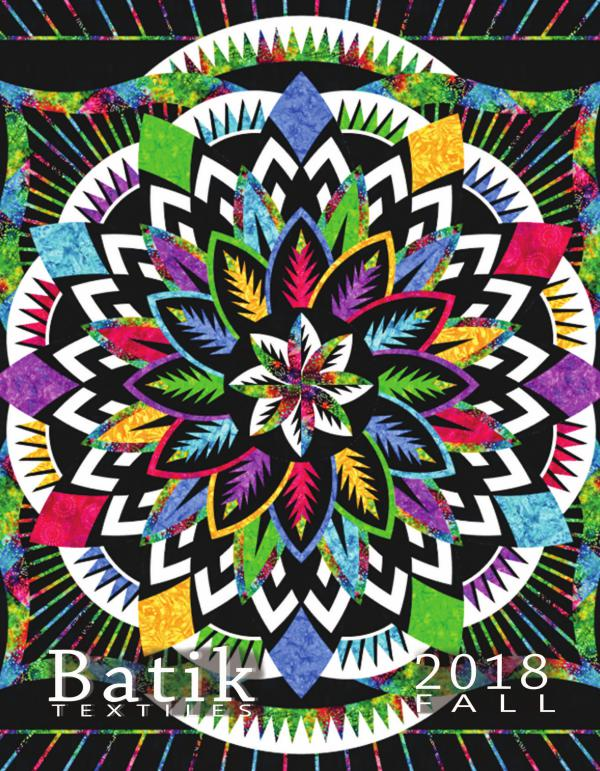Batik Textiles Fall Fabric Collection and Quilts Batik Textiles Fabrics 2018/2019