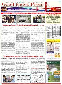 Good News Press Fall 2019 Mail Insert