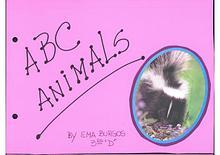 ABC Animals By Ema Burgos 3°D