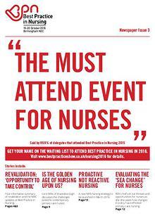 Best Practice in Nursing 2015 Post Show Newspaper-Issue 3