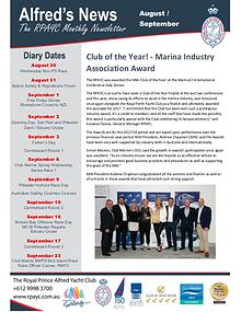 The Alfred's News August/September Edition 2017