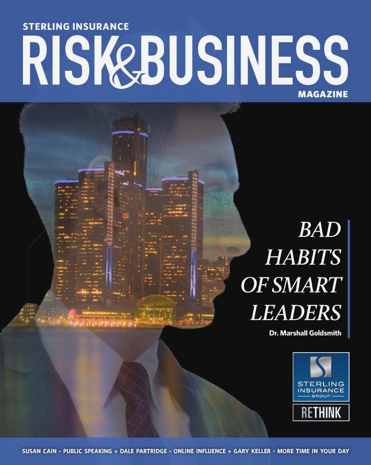 Risk & Business Magazine Sterling Insurance Summer 2018