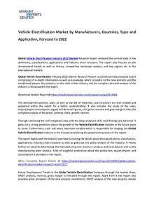 Vehicle Electrification Market 2017