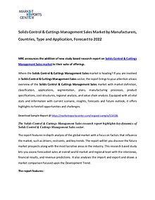 Solids Control & Cuttings Managemen Market 2017