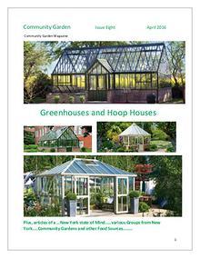 Community Garden Magazine  Issue Eight  April 2016