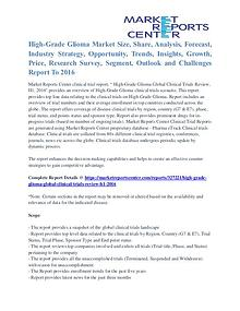 High-Grade Glioma Market Major Players Analysis and Forecast to 2016