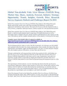 Non-Alcoholic Fatty Liver Disease (NAFLD) Drug Market Analysis 2016