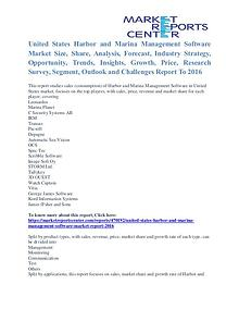 Harbor and Marina Management Software Market Segmentation To 2016