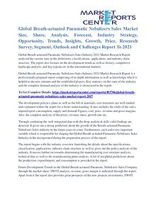Breath-Actuated Pneumatic Nebulizers Sales Market Future Trends 2021