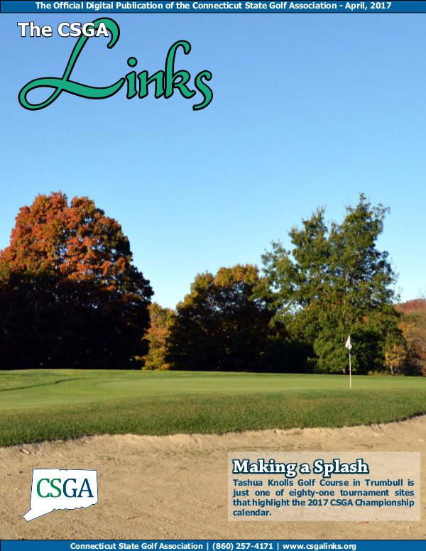 The CSGA Links Volume 5 Issue 1 April 2017