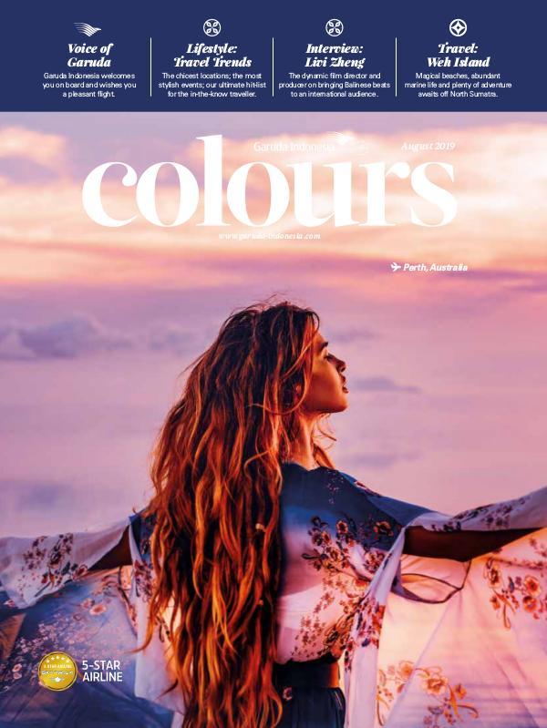 Garuda Indonesia Colours Magazine August 2019