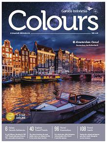 Garuda Indonesia Colours Magazine