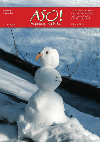 ASO! Augsburg Süd-Ost ASO-Augsburg Süd-Ost,  Februar 2016