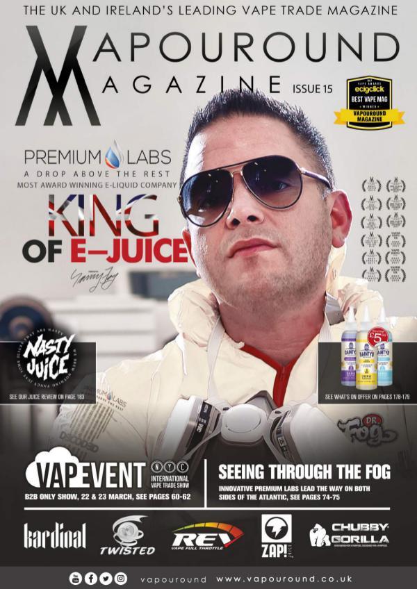Vapouround magazine ISSUE 15