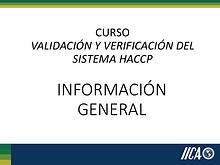 Información General HACCP
