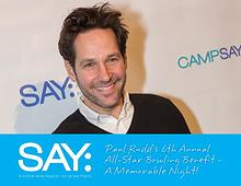 Paul Rudd's 6th Annual Bowling Benefit - A Memorable Night!