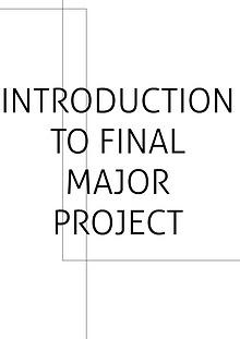 Final Major Project