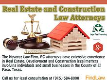 Real Estate and Construction Law Attorneys - The Nevarez Law Firm