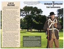 Fort Leavenworth, KS Mormon Battalion Brochure