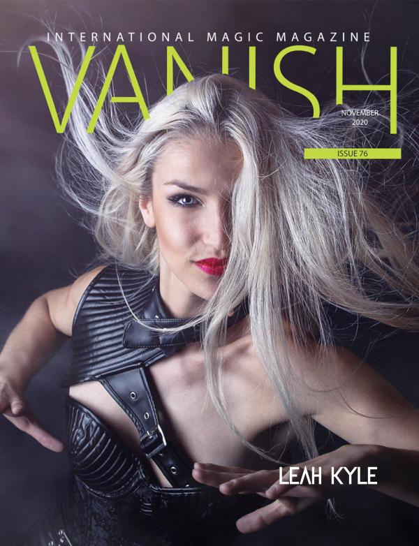 Vanish Magic Magazine 76 November 2020 Vanish Magic magazine