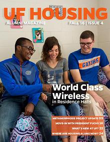 UF Housing Alumni Magazine