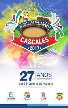 PROGRAMA DE FESTIVIDADES CANTÓN CASCALES 2017