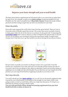 Vitasave.ca - Online health and supplement store