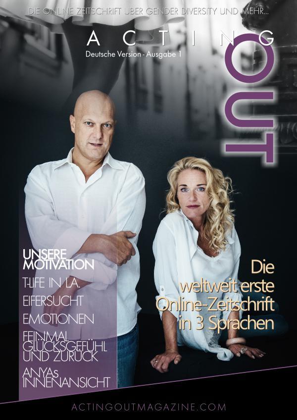 ActingOut Zeitschrift Ausgabe 1 -Deutsch ActingOut Zeitschrift Ausgabe 1 -Deutsch