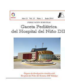 Gaceta Pediatrica del Hospital del Niño DIF