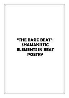Beat Generation essay