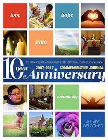 St. Francis 10 Year Anniversary