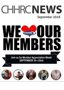 September 2018 CHHRC Newsletter