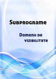 Subprograme