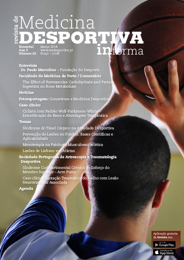 Revista de Medicina Desportiva Informa Março 2018