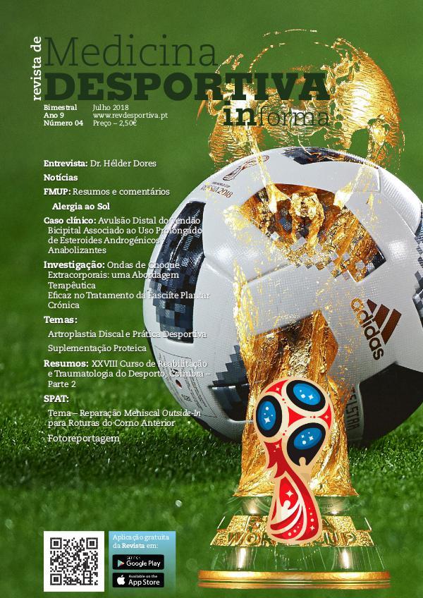 Revista de Medicina Desportiva Informa Julho 2018