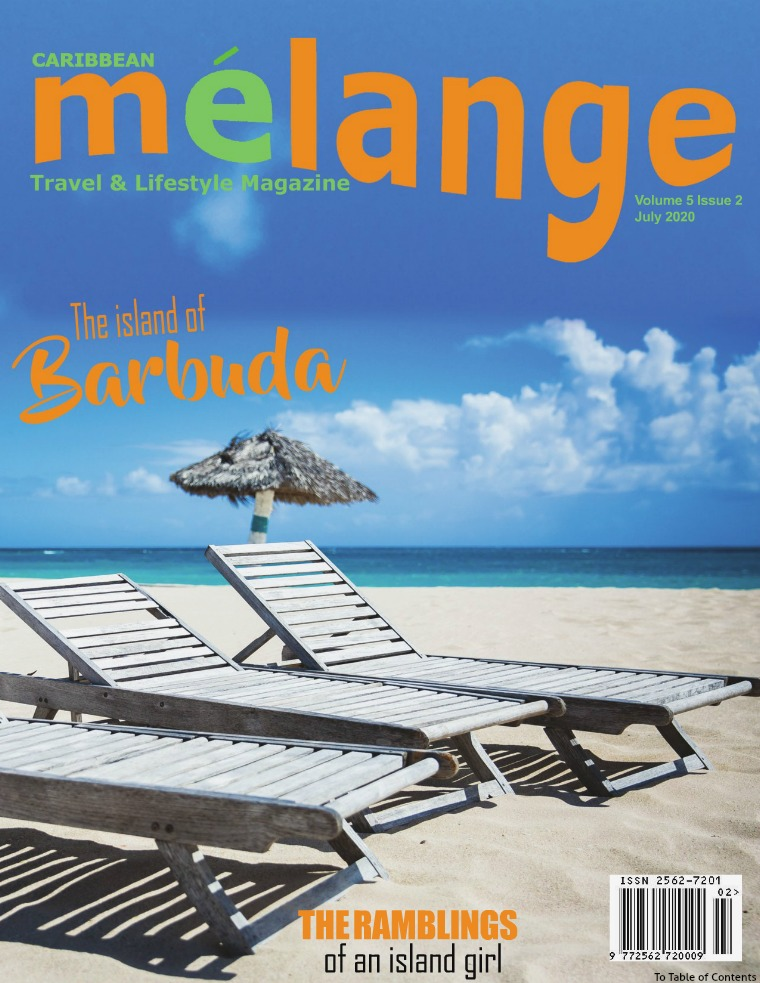 Melange Travel & Lifestyle Magazine July 2020