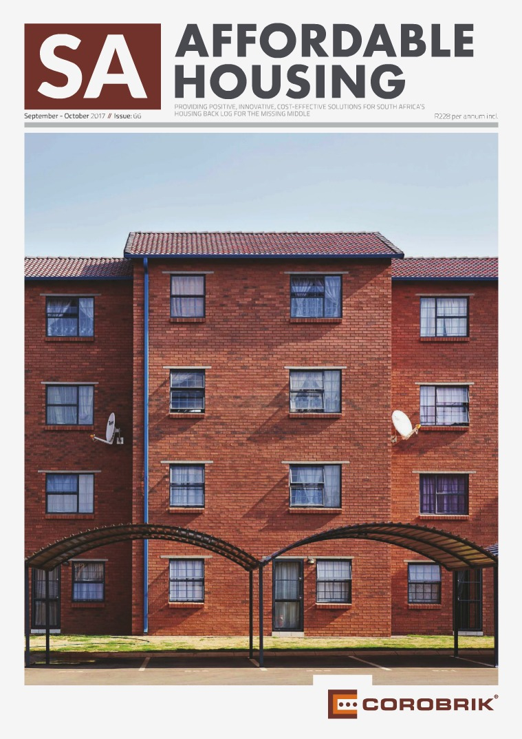 SA Affordable Housing September / October 2017 // Issue: 66