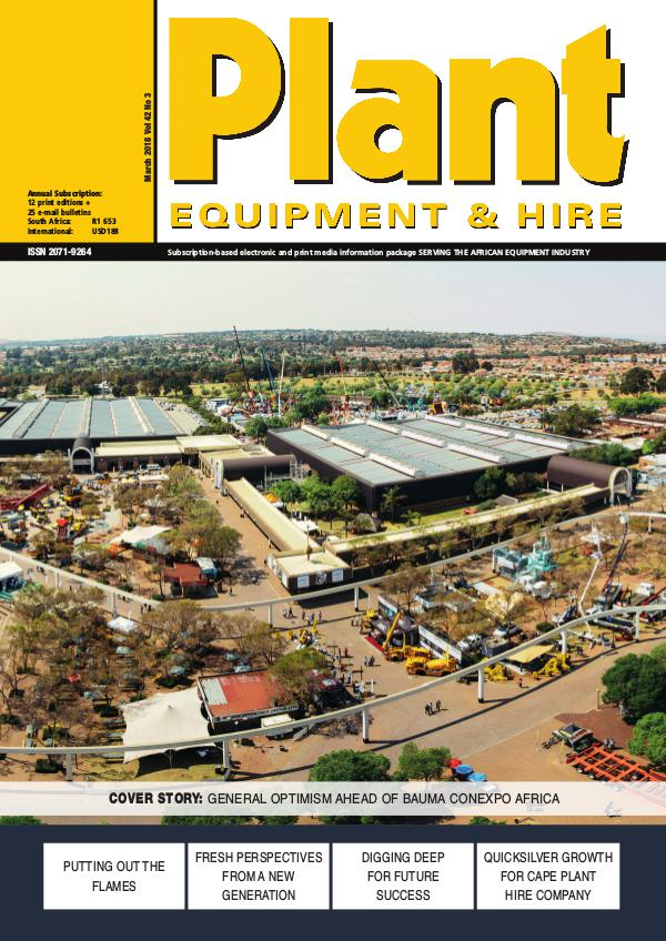 Plant Equipment and Hire March 2018