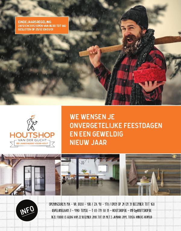 Houtshop magazine - Winter 2018 Winter 2018