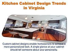 Kitchen Cabinet Design Trends in Virginia