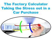 The Factory Calculator Taking the Stress out in a Car Purchase
