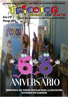 Revista TRICOLOR, Mesa de Aura, Táchira Venezuela
