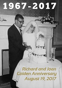 Joan and Richard 50 Years Together