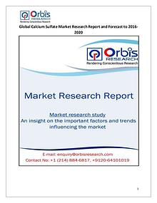 2016 Research and Analysis Report: