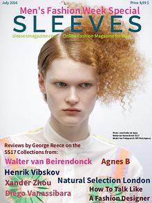 Sleeves Magazine Men's Fashion Week Special