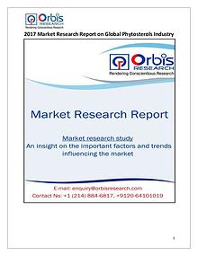 New Study: Global Phytosterols Market Trend & Forecast Report