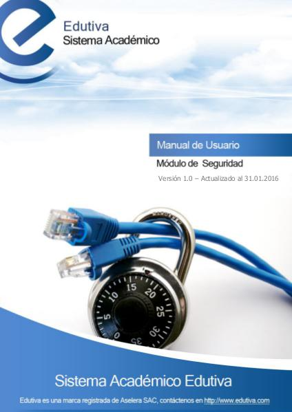 Manual de Seguridad Enero 2016