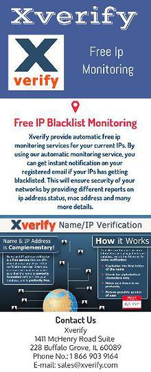 Free IP Monitoring