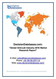Global Airbrush Industry  ket Research Report