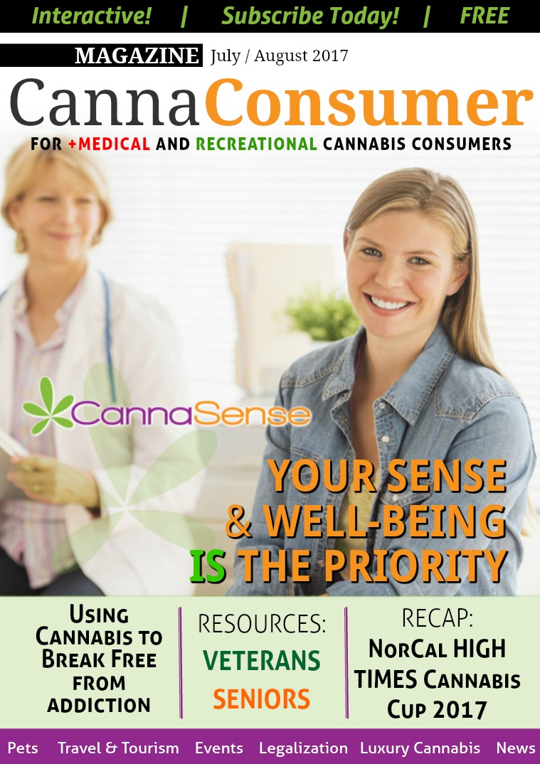 CANNAConsumer Magazine August 2017